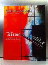 "SUPERBE CATALOGUE "" STREET ART & DESIGN"" MILLON & ASSOCIÉS 14 Juin 2010"