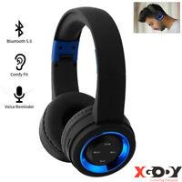 TR905 Wireless Bluetooth Headphones Foldable Headset Stereo Heavy Bass Earphones