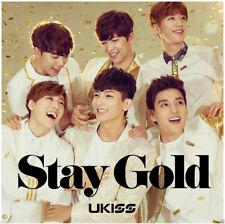 U-KISS Japan 11th single [Stay Gold] (CD + DVD) Limited Edition K-POP
