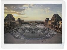 JR au Louvre - 29 Mars à 18h08 - Signed And Numbered Lithograph Print (sold out)
