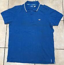 Adidas Originals Camisa Polo Manga Corta Azul Medio