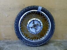 1973-75 Yamaha RD350 Twin Y128. rear wheel rim 18in #2