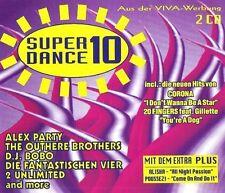 Super Dance Plus 10 (1995) Alex Party, 2 Unlimited, Corona, 20 Fingers,.. [2 CD]