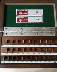 Starrett Gage blocks grade 1 vintage
