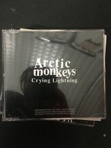 ARCTIC MONKEYS CRYING LIGHTNING PROMO CD SINGLE / EP - FREE POSTAGE