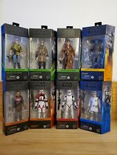 "Star Wars The Black Series 6"" Lot of 8 The Mandalorian & other Solo-Armorer Read"