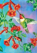 Hummingbird Dance - Garden Flag