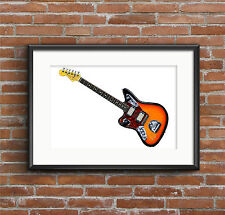 Kurt Cobain's Fender Jaguar - POSTER PRINT A1 size