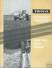 Farm Equipment Brochure - Tryco - Floater Tire Tracks for Tractor  (F4177)