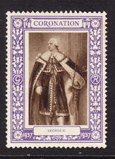 "GB 1937 Coronation ""Purple""  King George 111 -  Mint"