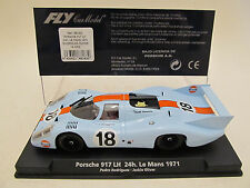 "FLY 88183 or A1402 CLASSIC GULF PORSCHE 917 LH ""24h. Le Mans 1971""1/32 Slot Car"