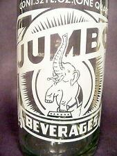 vintage ACL SODA ACL BOTTLE - #1  JUMBO of GROVE CITY, PA  -  32 oz POP BOTTLE