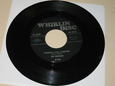 DOO-WOP 45RPM RECORD ON WHIRLIN DICS 108 BY THE WHIRLERS