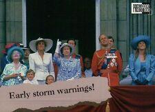 Queen Elizabeth, Princess Diana etc. - Royal Family Trading Card, Not a Postcard
