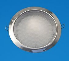 """LED Boat/Caravan Light - 6"""" Down Light - Stainless - Warm White LEDs - 12V"""