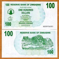 Zimbabwe, 100 dollars, 2006, P-42, UNC