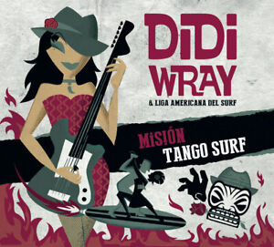 CD - Didi Wray - Mision Tango Surf - import tango surf music from Argentina