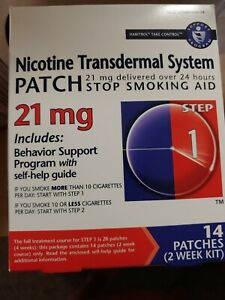 Nicotine Transdermal System 21mg patches (14 pack) by Habitrol