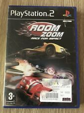 ROOM ZOOM RACE FOR IMPACT PLAYSTATION 2 PS2 PAL COMPLET FRANÇAIS  RARE VF FR