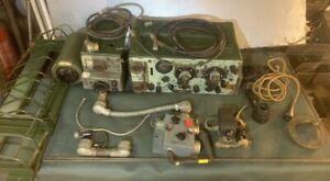 Army Wireless Set 19 WS19 WW2 Radio.  Powers Up. jeep set