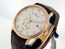 Blancpain Villeret  Ultra-Slim  6606-3642-55B  18k Rose Gold 40mm $19,200 NIB