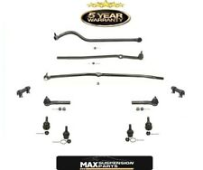 00-01 Ram 1500 4x4 Drag Link Tie Rods Track Bar Ball Joints 11 Pc KIT