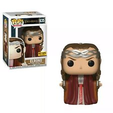 Funko POP Elrond Hot Topic Exclusive Lord Of The Rings + Protector