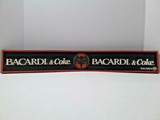 "Bacardi And Coke Bar Mat With Bat 23.5"" x 3.25"""