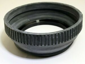Vivitar 77mm screw in Rubber Lens Hood Telephoto double threaded vintage