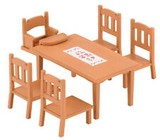 Sylvanian Families Furniture & Accessories 4506 Family Table & Chairs /Age 3+