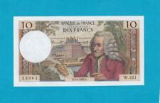 Billet 10 francs Voltaire - 03-02-1966