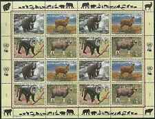 Timbres Animaux Nations Unies Genève F 494/7 ** année 2004 lot 4157
