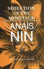Seduction of the Minotaur (Vol V) Nin, Anaïs Paperback Used - Good