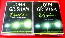 John Grisham Reads Bleachers 3-Tape UNABR Audio Jack Cristal American Football