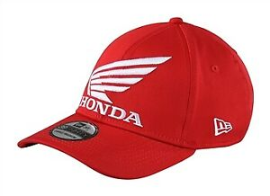 Troy Lee Designs HONDA WING New Era 39THIRTY stretch fitted hat - Red