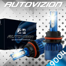 AUTOVIZION LED HID Headlight 9004 HB1 6000K for 1985-1989 Subaru GL-10