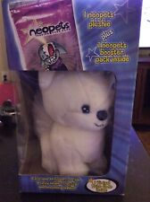 RARE Neopets Doglefox in box with booster pack trading cards