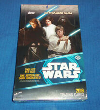 Topps Star Wars 2017 los últimos Jedi 1 X Display//30 Booster trading cards