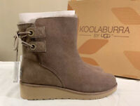 KOOLABURRA BY UGG, LOMA SHORT 1020274 SIZE 11, CINDER WOMAN'S BOOTS BRAND NEW