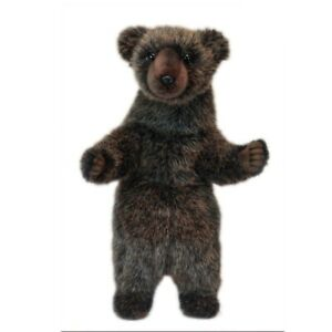 Grizzly Bear Cub Hansa Realistic Soft Animal Plush Toy 28cm **FREE DELIVERY**