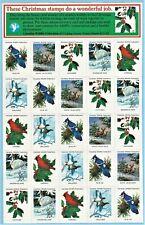 Canadian Wildlife Federation Seals.  Full sheet of 25. NMNH  #7