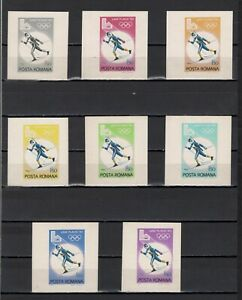 ++ 1979 Olympic Games Lake Placid 1,5 Nominal in Different Colour Thick Paper