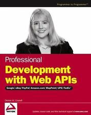 Professional Development with Web APIs: Google, eBay, Amazon.com, MapP-ExLibrary