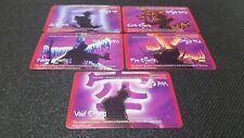 L5R 5 Elemental Ring cards [ Matthew D Wilson art ] Legend of the Five Rings LCG