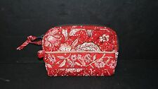 STEPHANIE DAWN BURNT RUBY SMALL COSMETIC BAG PURSE ~ MINT NEW WITH TAG