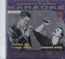 Miguel Bose Alejandro Sanz Exitos  Karaoke Nuevo Sealed