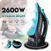 Portable 2600W Cordless Electric Steamer Iron Household Laundry Cloth Anti-skid