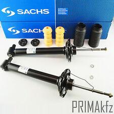 2x SACHS 170 814 Stoßdämpfer + Staubmanschette Domlager hinten Audi A4 B5 Avant
