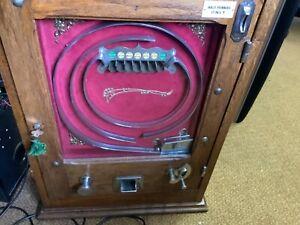 Vintage Allwin Penny Machine, working.