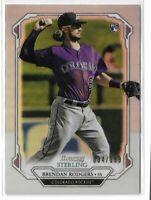 2019 Bowman Sterling baseball BSR-78 Brendan Rodgers Refractor RC /199